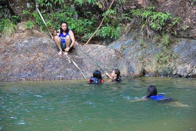 Jerangkang waterfalls