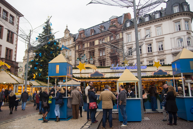 Visiting Wiesbaden Germany Christmas markets
