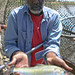 Small photo of Mike Harris with American Shad
