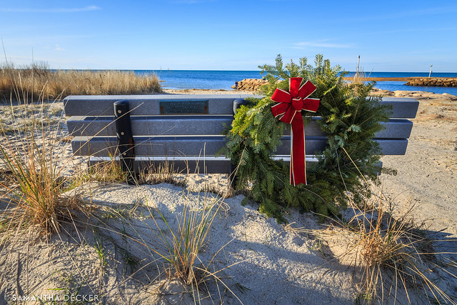 A Wreath at the Beach