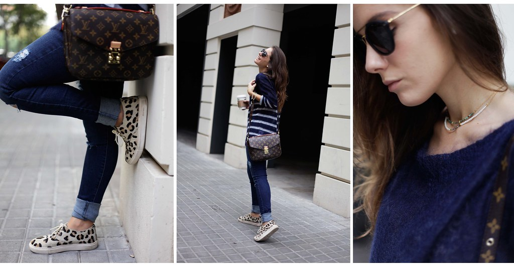 016_CASUAL_OUTFIT_LEOPARD_AND_STRIPES_BLOGGER_BARCELONA_THEGUESTGIRL