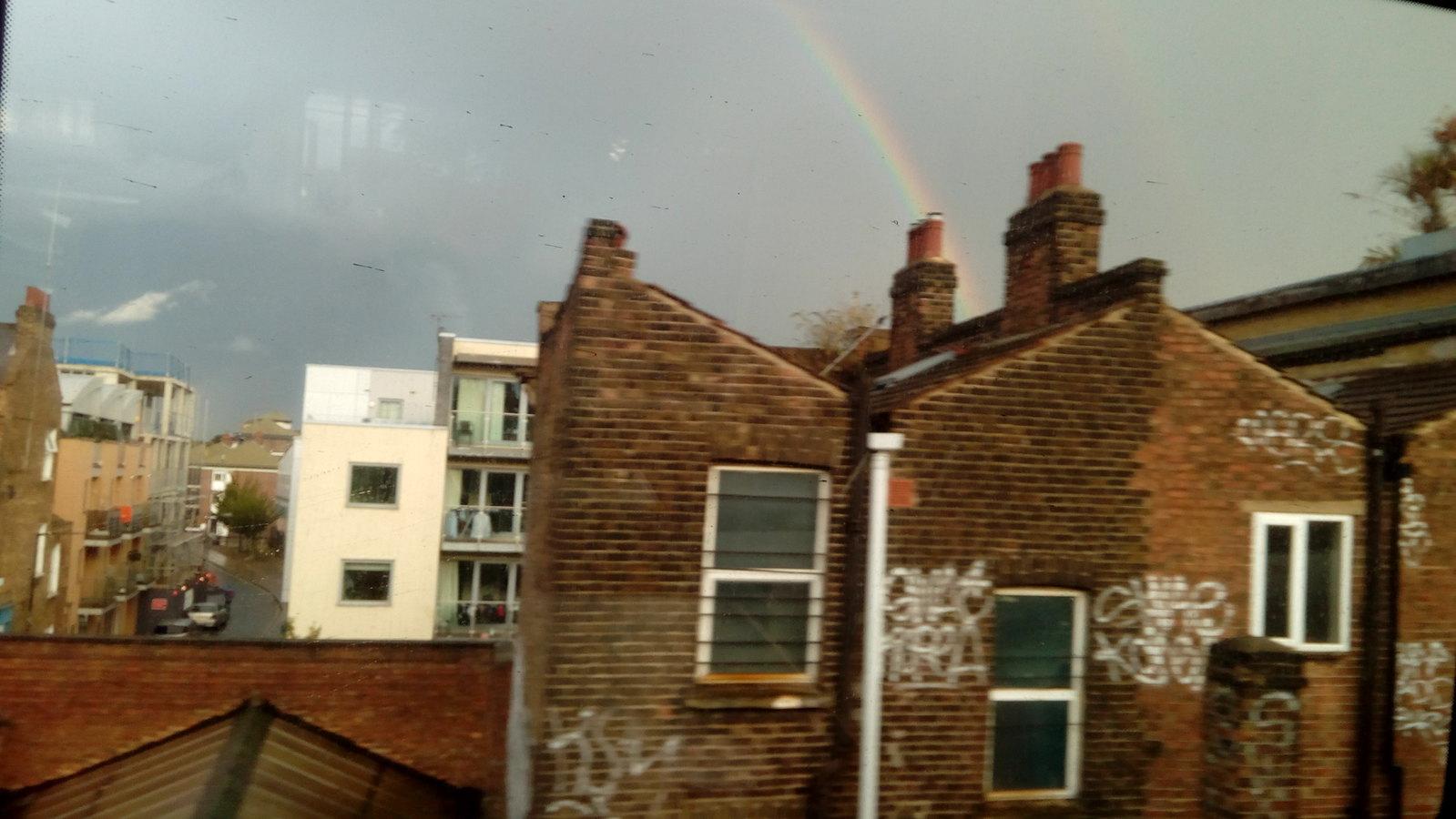 E9 Rainbow Returning to Liverpool street