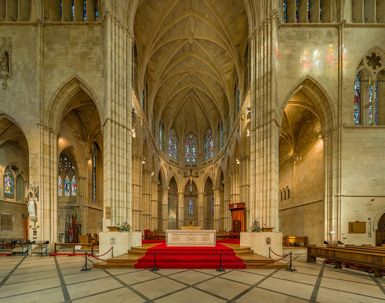 Arundel Cathedral Sanctuary. Credit David Iliff