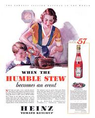 Heinz Tomato Ketchup, 1932