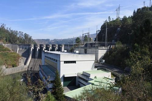 Dam on Tamega river