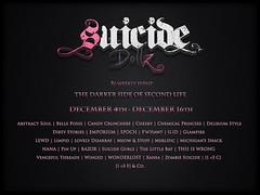 Suicide Dollz Event Flyer