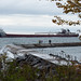 North Shore Trip - Oct 2016 - SS Arthur M Anderson at Anchor outside of Two Harbors