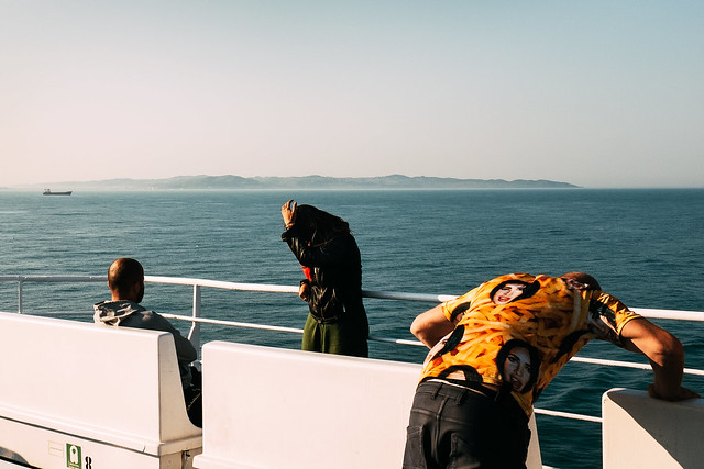 On the ferry from, Fujifilm X100S