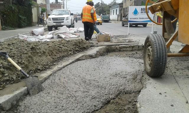 Adecentan espacio en calle Alejo Lazcano y avenida Marcos Aray