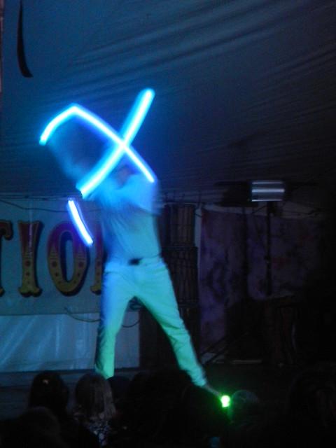Andy - glow poi, Nikon COOLPIX S100