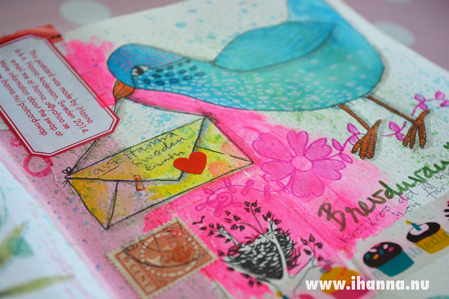 Letter Dove on the way by iHanna of www.ihanna.nu