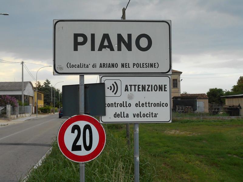 impossibile andare forte, Piano di Rivà, Ariano Polesine