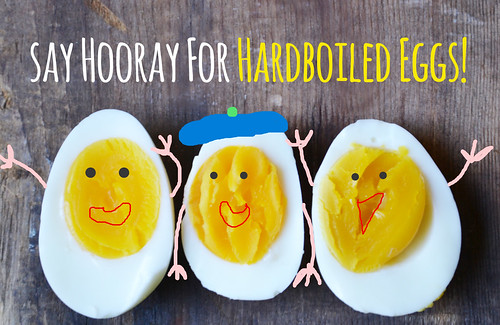 Silly Hardboiled Eggs