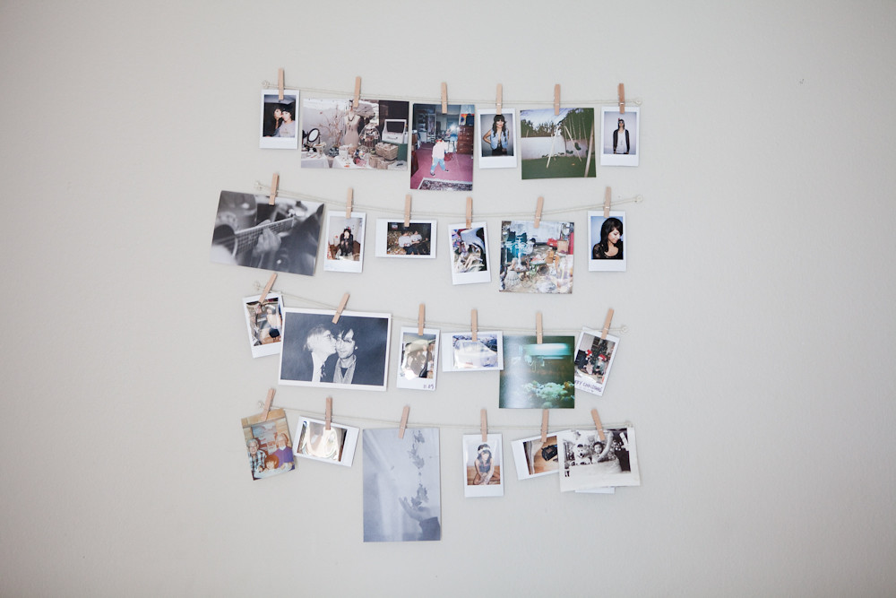 Target Back to College Fujifilm instax photos hanging