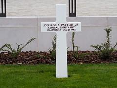 George S. Patton Jr's Grave