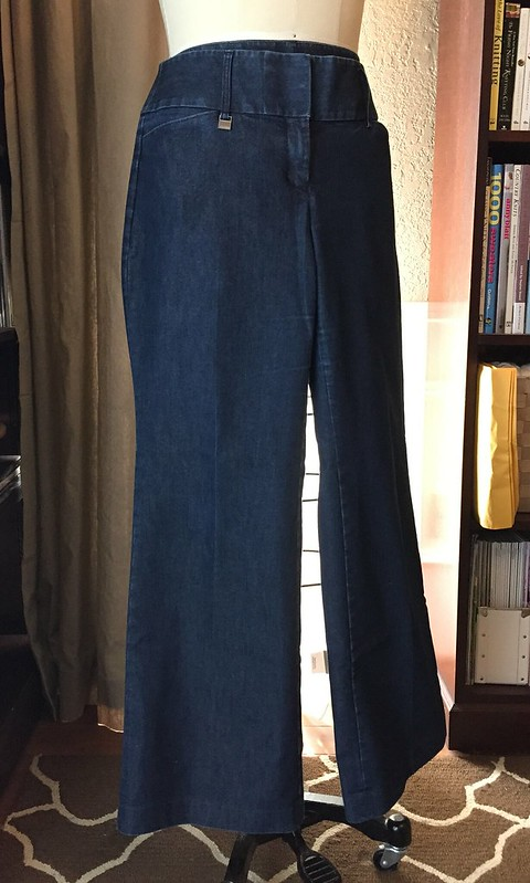 Denim Pencil Skirt - Before