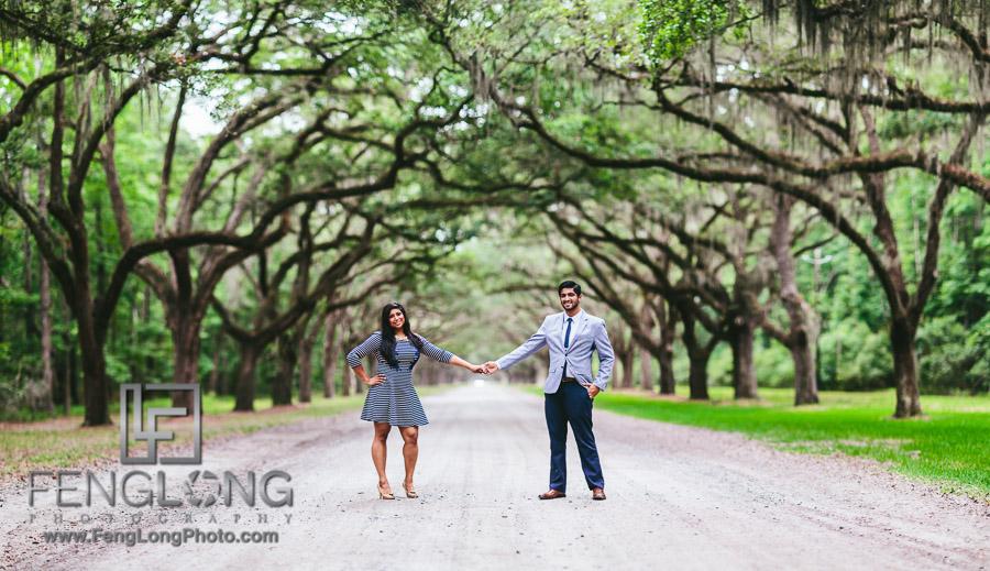 Saira & Ishaan | Wormsloe + Forsyth Park + Tybee Island | Savannah Indian Wedding Photographer