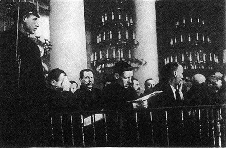 Accused at Moscow Trials