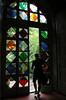 The glass door (Urbino, Giardino Botanico) by Marta A. Photography
