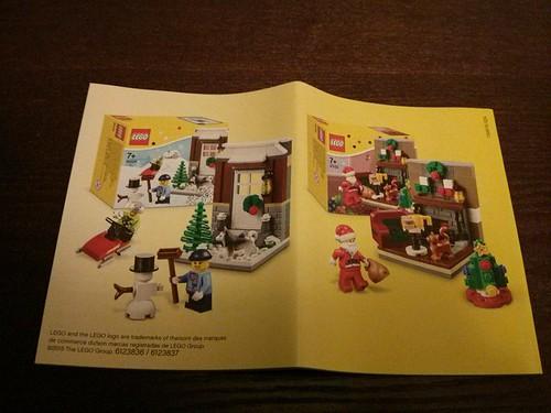 LEGO Seasonal Winter Sets