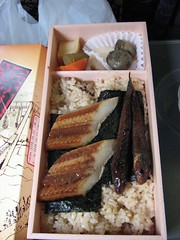 meal(1.0), fish(1.0), ekiben(1.0), food(1.0), dish(1.0), cuisine(1.0), bento(1.0),