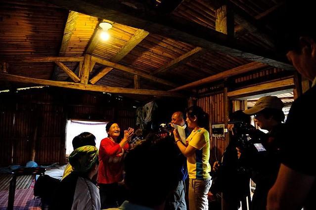 台南社大大同部落點燈,一度電的價值是無價。圖片提供:林元笠。