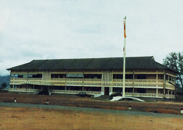 1969 I Corps Headquarters, located on the outskirts of the Da Nang Air Base - Bộ tư lệnh QĐI và QK1 tại Trại Nguyễn Tri Phương Đà Nẵng