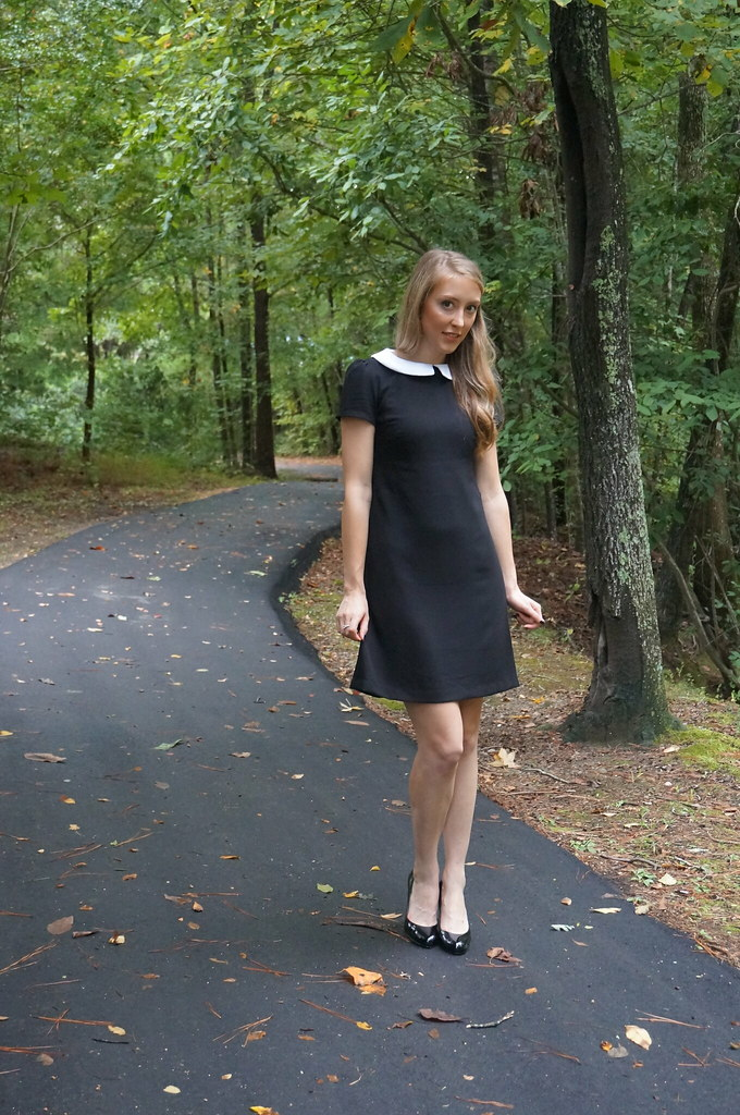 wednesday addams dress | allie J. | alliemjackson.com