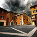 in the streets of Bardolino
