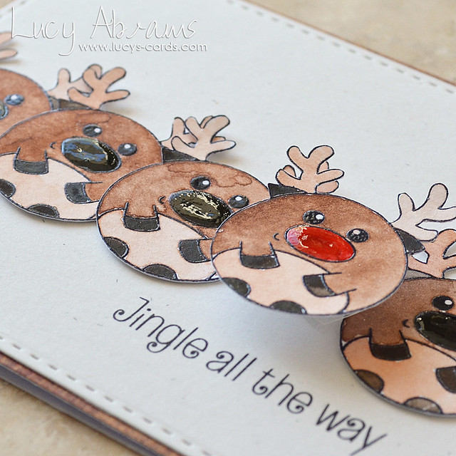 Wobbly Rudolph 2 by Lucy Abrams