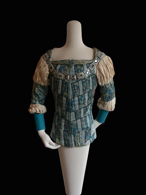 Tunic worn by Rudolf Nureyev as Romeo in Act I scene 4 of Romeo and Juliet (1965) © ROH