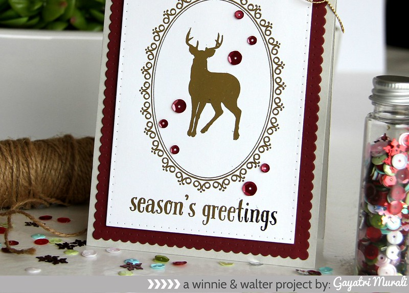 Season's Greetings closeup