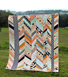 An Arizona Herringbone Quilt