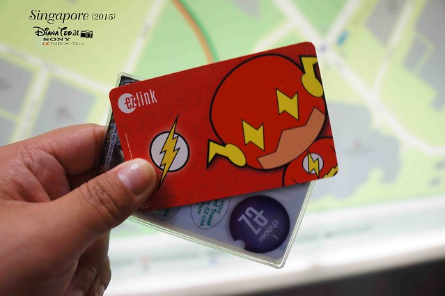 EZ Link MRT Card SIngapore Superheroes