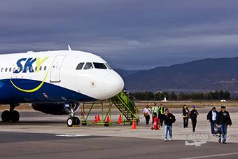 "Sky Airline pasajeros en LSC (S.Díaz)""><span style="