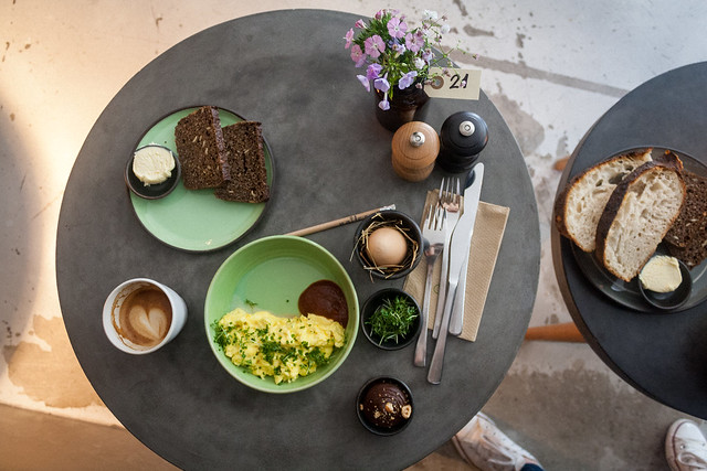 Brunch at Møller - Copenhagen, Denmark