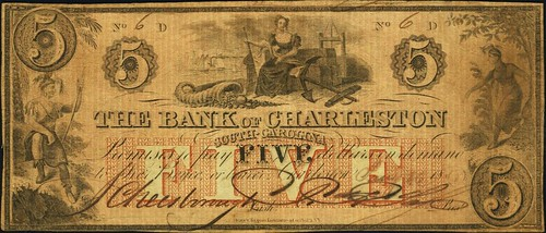 Lot 19990 Charleston, SC - Bank of Charleston $5