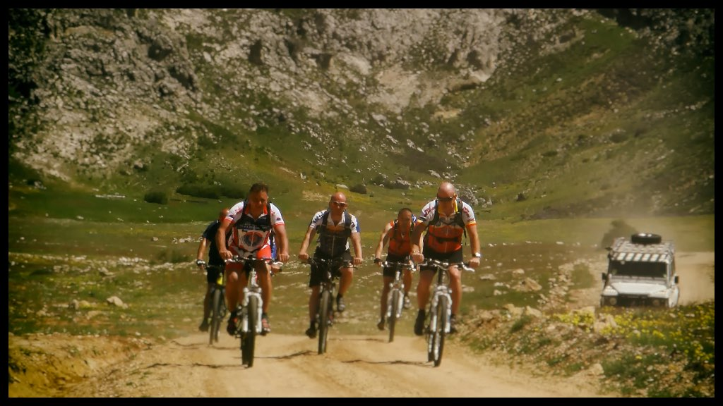 Mountain Biking the GR247 in Andalucia