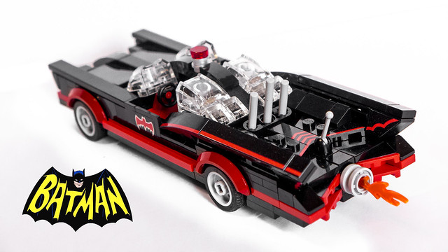 1966 Batmobile (rear)