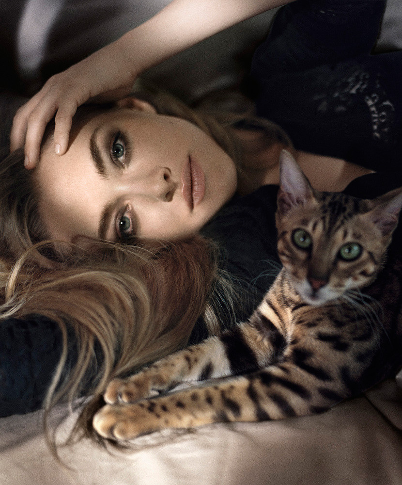 Аманда Сейфрид — Фотосессия для «Glamour» ES 2015 – 11