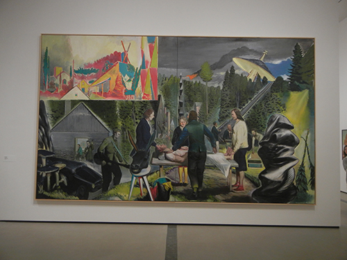 DSCN0514 _ Heillichtung, 2014 Neo Rauch, Broad Museum, LA