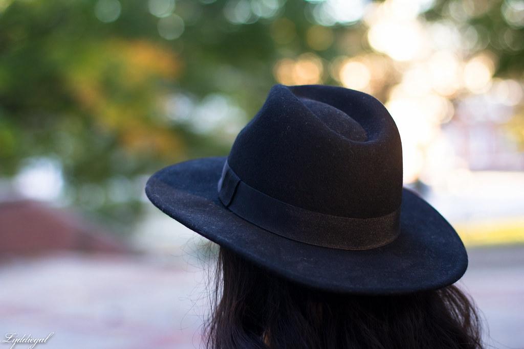 grey plaid coatagain, black pants, wool hat-4.jpg