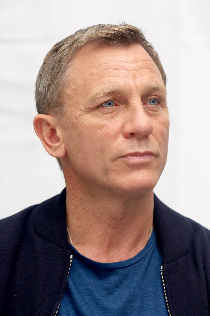 Дэниел Крэйг — Пресс-конференция «007: СПЕКТР» 2015 – 13