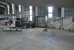AS7201 Maltese Defence Force, Agusta-Bell 47 at Malta Aviation Museum 30th October 2015