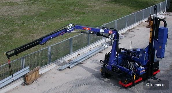Комбинированная машина с манипулятором