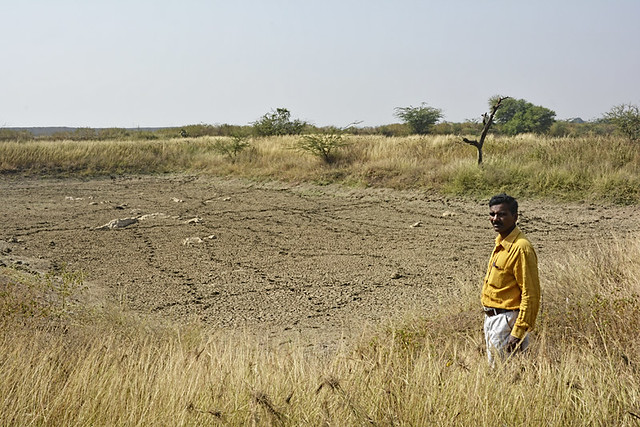 """In the last two decades, the surface and groundwater availability of the region has drastically reduced due to the continuous excavation of limestone in the area. This has also affected the climate and environment of the region. The quality of agricultural produce has deteriorated and so has the quality of the soil"", says Lalji Gayakwad, an affected farmer."