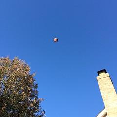 #KellerFarms #balloon overhead