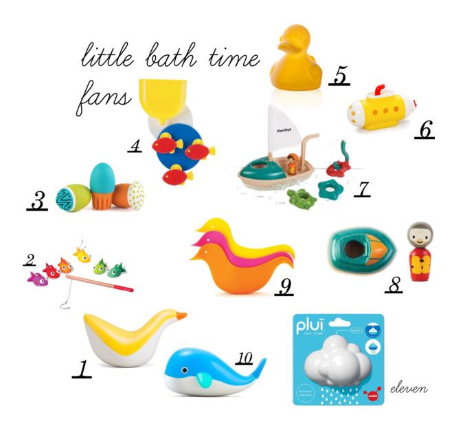 Gift guide 2015 - bath toys by Paul&Paula