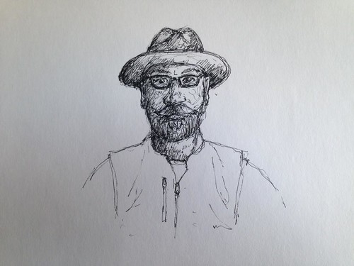 A Quick Self Portrait