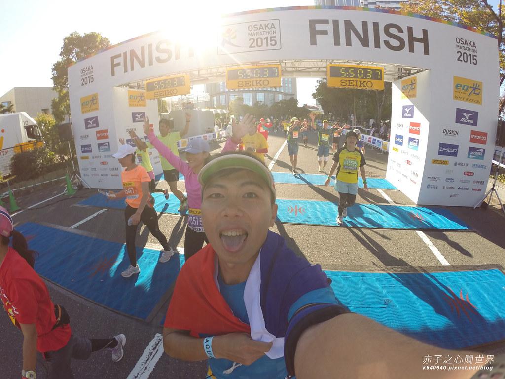 大阪馬拉松-跑步-70